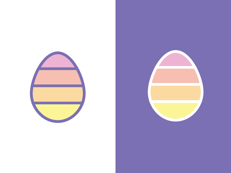 Easter Icon icon design easter egg easter