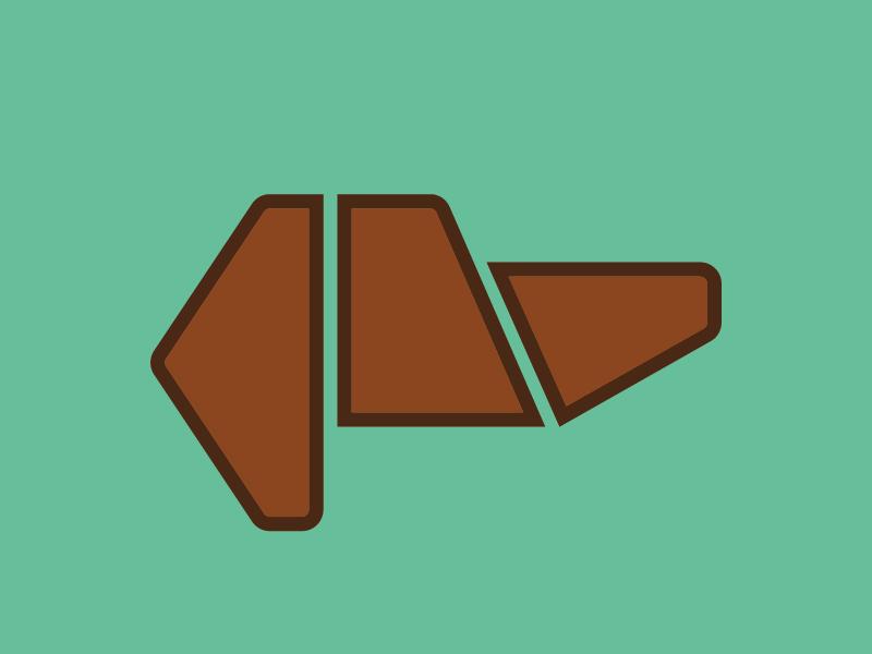 Buddy dachshund icon design icon dog