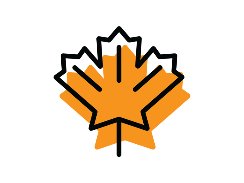 Fall Leaf icondesign icon leaf fall