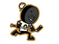old school hockey guy