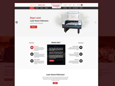 Lazerhome Eticaret company ecommerce ux design theme wordpress photoshop