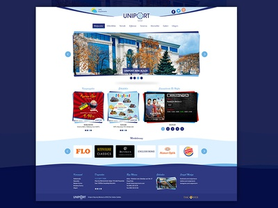 Uniport AVM - Ordu company ux design theme wordpress photoshop
