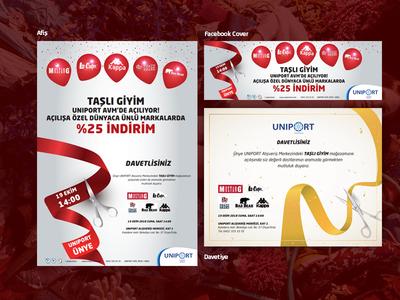 Taşlı Giyim - Ordu fashion opening design billboard illustration photoshop
