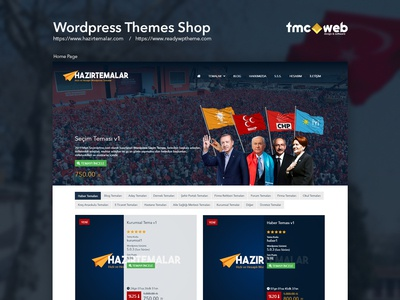 Wordpress Theme Shop Website