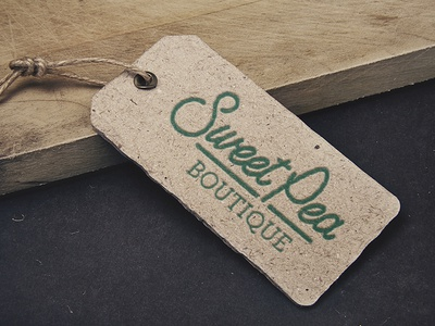 Sweet Pea Boutique Tag