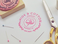 Hide & Cotton Stamp