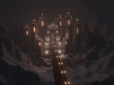 Just a warm cozy castle