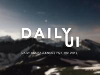 Daily UI 052