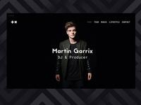 Martin Garrix Website Redesign (SOON)