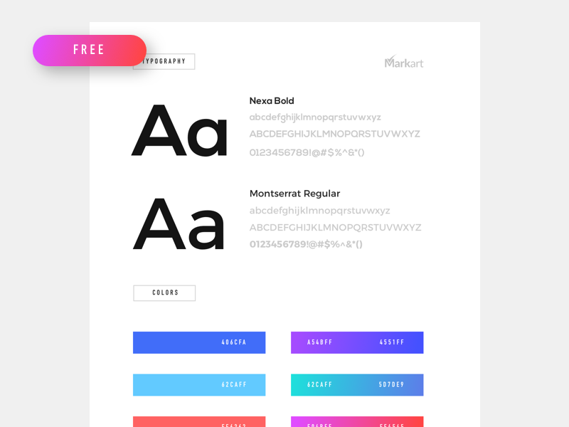 styleguide free template by mark gerkules dribbble dribbble
