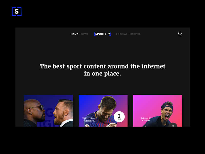 Sportyfy App sport website webdesign web ux userinterface uidesign ui mobile iphonex graphicdesign design