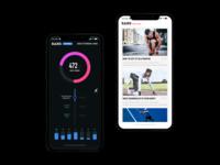 Fitness App Concept Design
