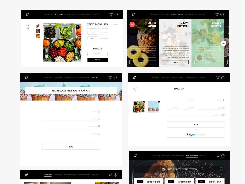 Macaronis Website layout logo graphicdesign mobile ux userexperiance userinterface ui web webdesign website