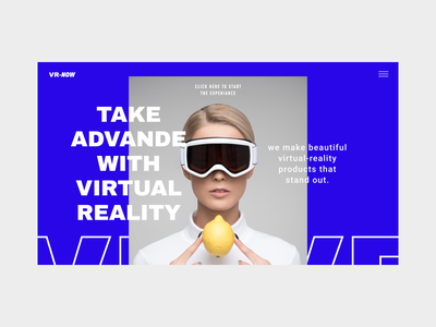 Virtual Reality Store Website Concept graphics websitedesign typography web userexperiance webdesign website userinterface ui design ux graphicdesign