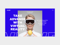 Virtual Reality Store Website Concept