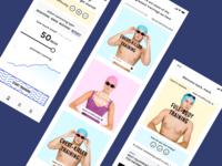 Swimmer App Design Concept