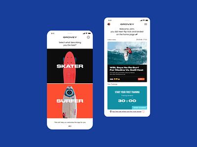 Grovey UI KIT - 20+ IOS Screens uikit appdesign app userexperiance mobile userinterface design ux graphicdesign ui