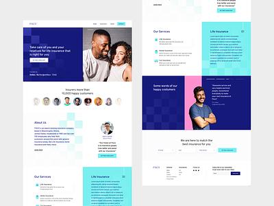Fisco Insurances Website Design graphicdesign design websitedesign branding userinterface userexperiance ux uiux ui web insurance webdesign website
