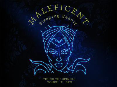 """Malificent """"Sleepy Beauty"""""""