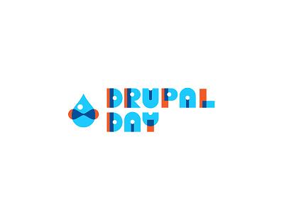 Drupalday logo @drop drupal branding logo