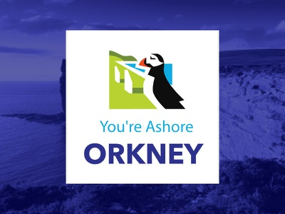 ORKNEY #1 design icon illustration scotland orkney logotype branding logo