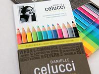 CV as a colour pencils box #1