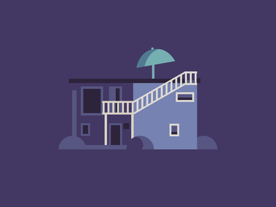 My house flat debut vector illustration graphic design