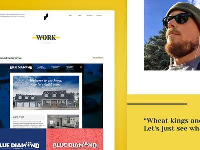 Pierre Personal Portfolio (Trip P) fresh funky website web minimal portfolio