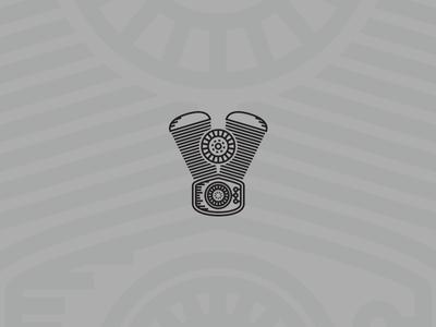Tiny Engine tiny symbol parts design mechanic engine