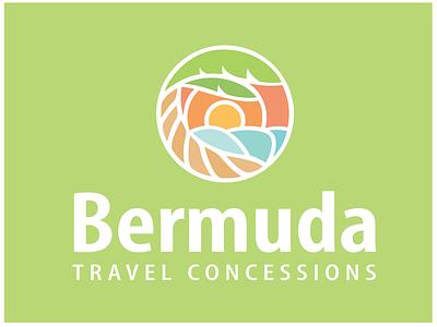 Alternate Bermuda partnership travel bermuda beach minimal branding brand simple clean logo