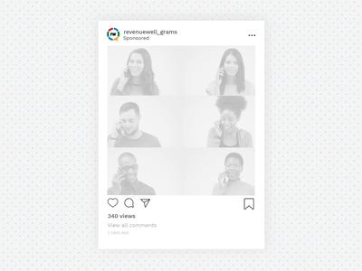 Facebook & Instagram Digital Ad instagram ad facebook ad covid branding layouts type design social digital instagram post dentistry brand layout video copy advertising instagram ad