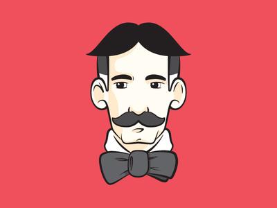 gentleman butt cut focus lab red gentleman scholar illustration practice fellow victorian mustache