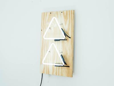 🎉 Announcement branding announcement twin forrest logo sign neon design studio