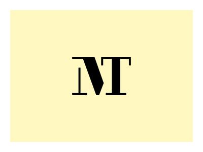 MT type pattern fashion fabric textile logotype mark logo monogram