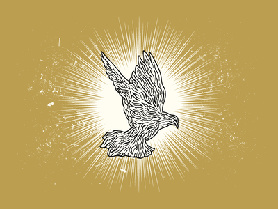 Spirit gold illo spirit prayer illustration holy holy spirit dove