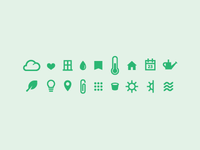 plant care icons