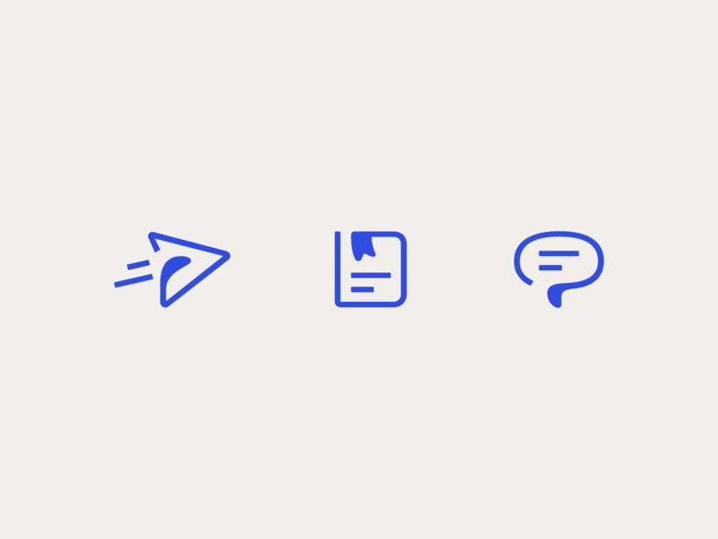 Intercom product icons