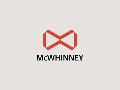 McWhinney infinity orange logo mark brand identity colorado denver mcwhinney