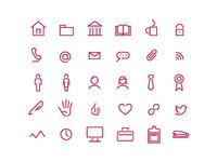 continu icons