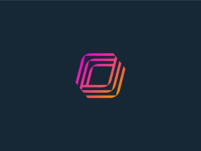👁🔍 eye lines gradient branding icon design identity mark brand logo