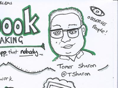 Northern UX Conference Sketchnotes conference ux hackathon talk creative digital meetup sketchnote doodle