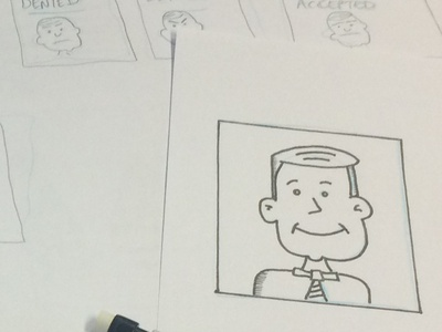 Ux Comic Strips show your work work in progress hand drawn user experience user story ux design sketch drawing comic persona ux process