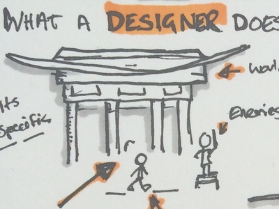So you want to be a Game Designer? hand drawn doodle sketch gaming design gamedev