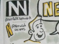 Networking Tips Sketchnote