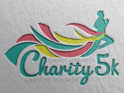 Charity Race Logo Design by Haley Shbeeb - Dribbble