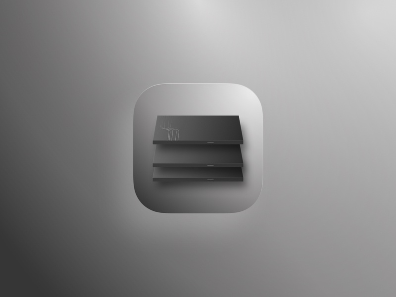 Norththern server neumorphism bigsur branding design app ui