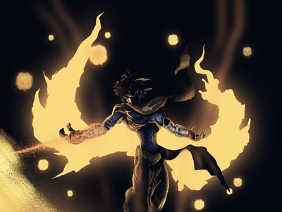 Raziel — Soul reaver lights draw dammn illustrator soulreaver illustration raziel