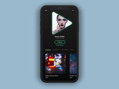 User Profile - Daily UI Challenge #006