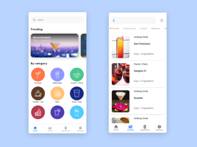 Drink Recipes App