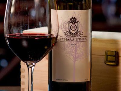 Wine Label Graphic Design graphic design wine label